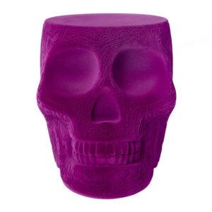 mexico-skull-velvet-stool-side-table-violet-478818